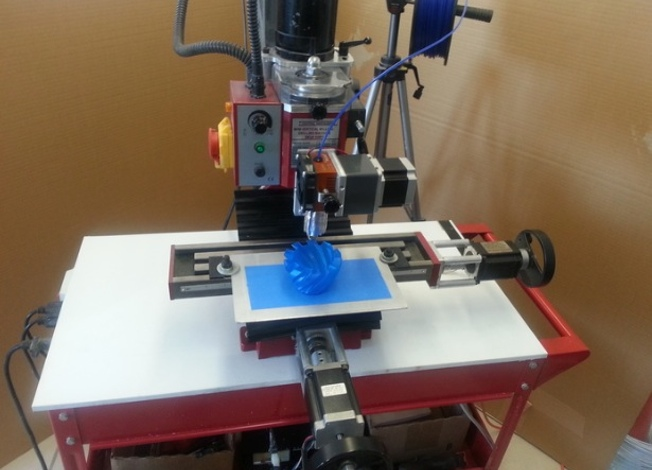 Tribot All In One Machine 3d Print Cnc Mill Auto