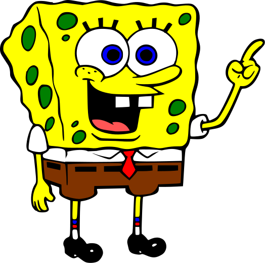 3d printing project for the upcoming weekend: spongebob
