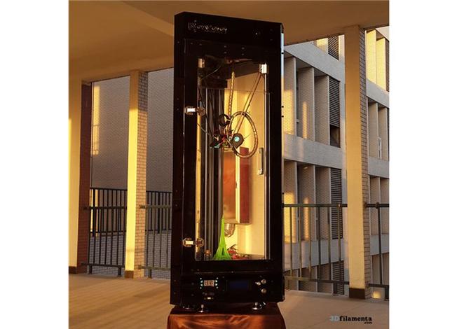 royee ii huge delta 3d printer by royee technology. Black Bedroom Furniture Sets. Home Design Ideas