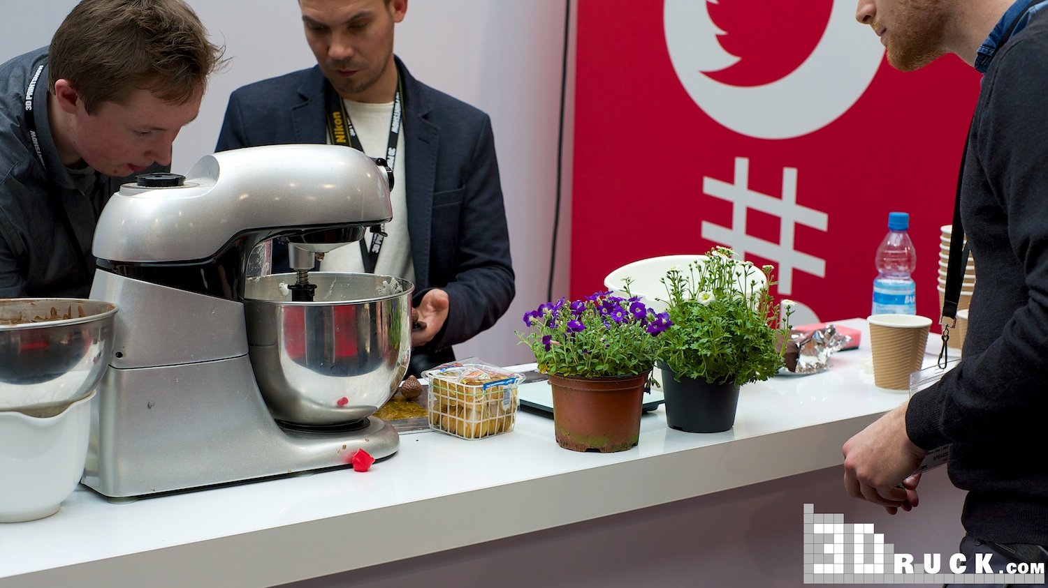 Michelin Chef 3D Prints Food at 3D Printshow in Berlin 3