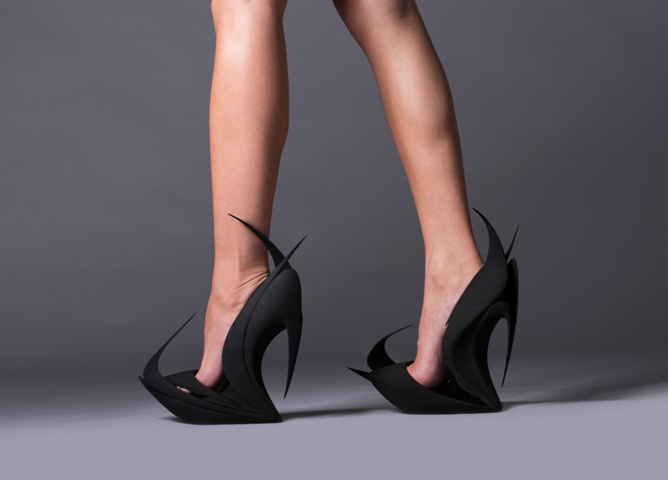 3d printed shoe fashion at milan design week. Black Bedroom Furniture Sets. Home Design Ideas