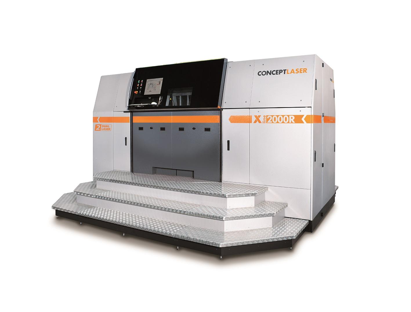 X line 2000R Image: Concept Laser