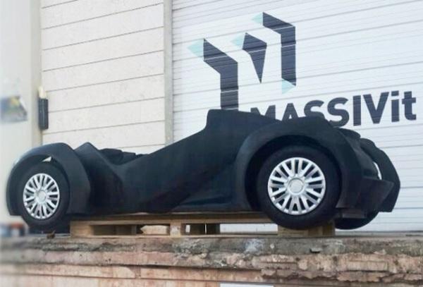 3D printed Strati car