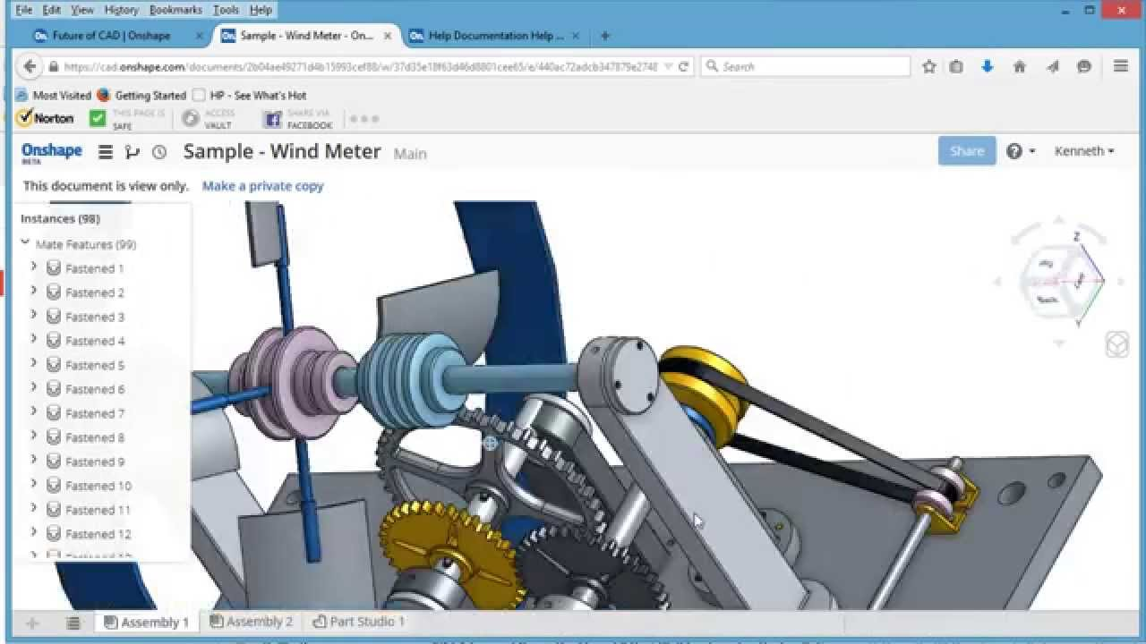 onshape_CAD_3d_software