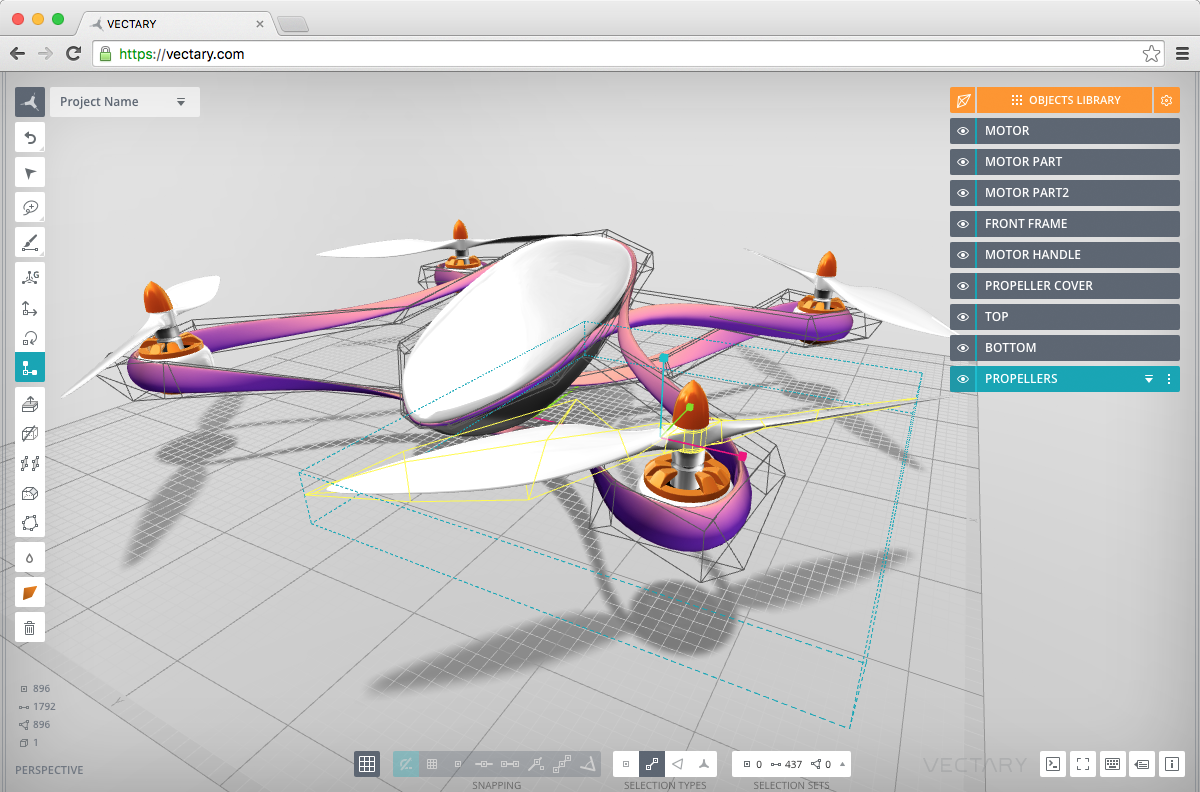 Vectary easy to use online 3d design and customisation for Online 3d