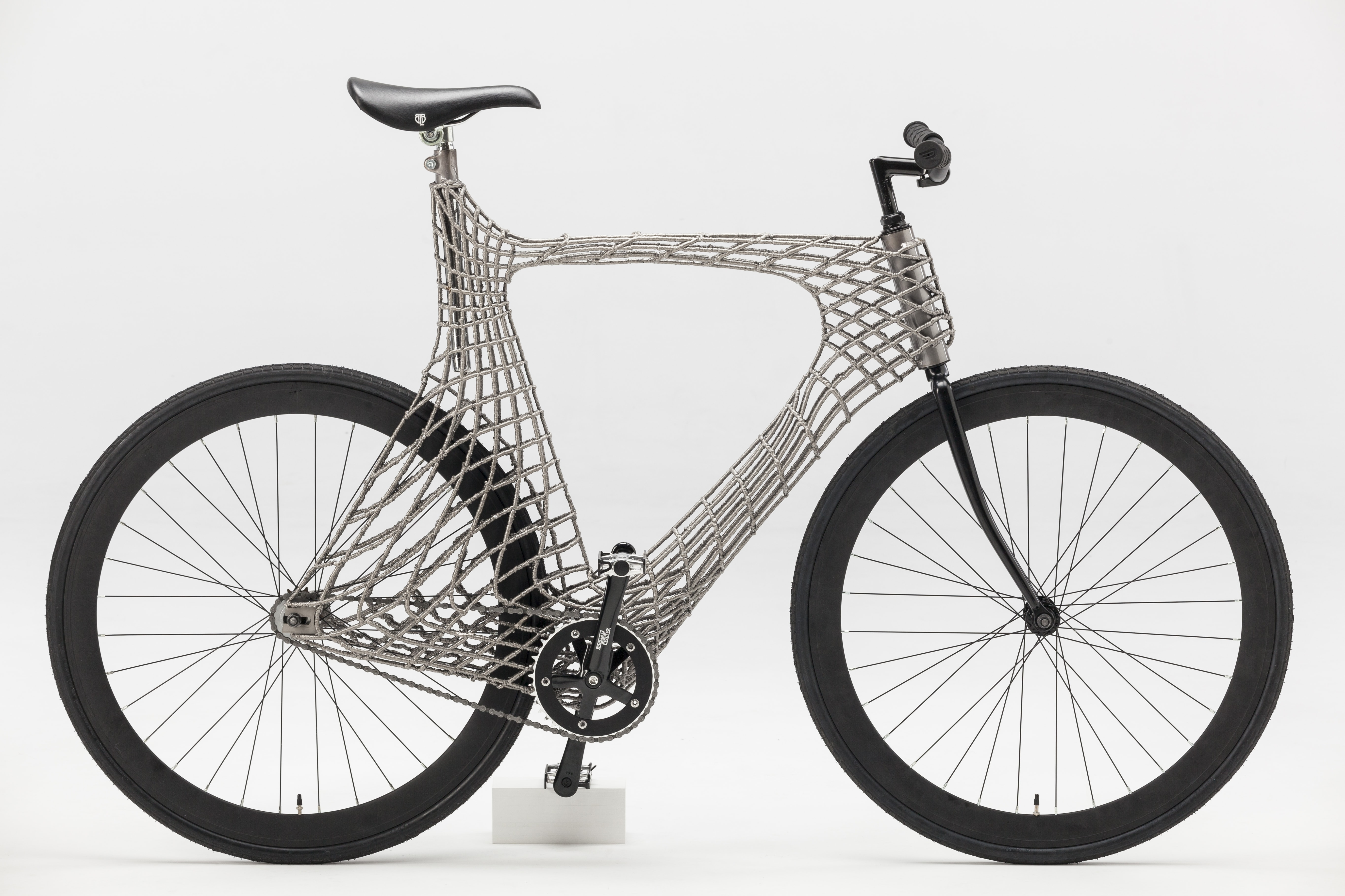 TU Delft Students 3D Print Stainless Steel Bicycle with the Help of ...