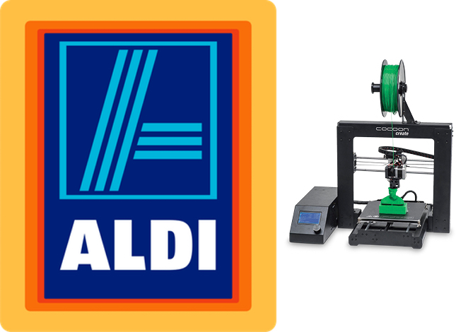 Affordable Cocoon Create 3d Printer Available At Aldi Australia