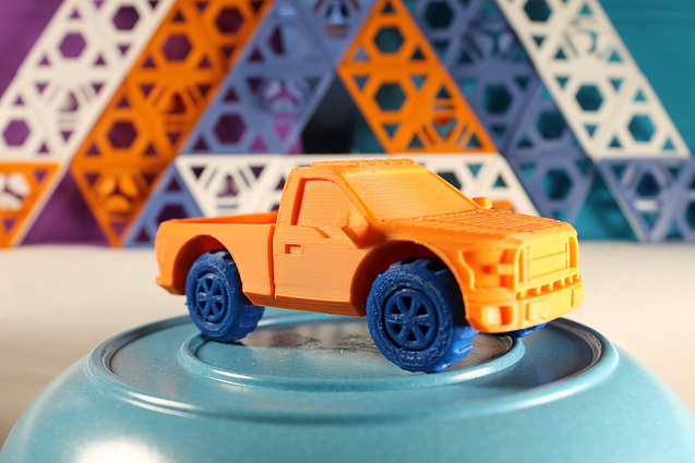 3d printed toy car	  PieceMaker Teams Up with Ford to 3D Print Customised Toy Cars ...