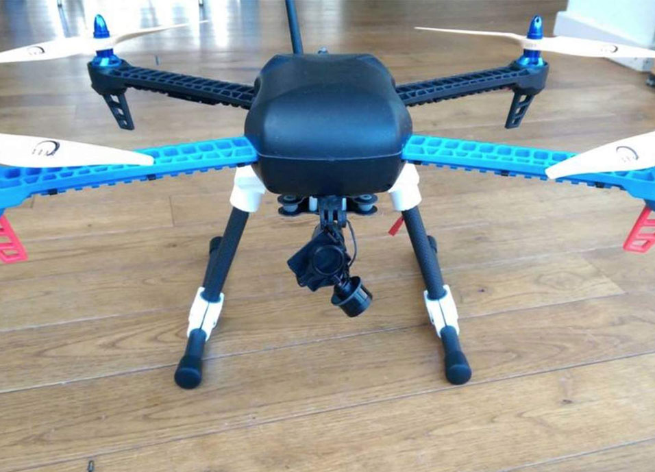 picture about 3d Printable Drone named 3D Print Your Personal IRIS+ Drone - Data files At this time Readily available For Totally free