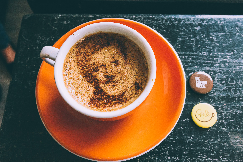 3d printed coffee stencils used to launch uk coffee week 3printr com