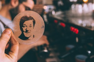 Stephen Fry Stencil - UK Coffee Week - Robox 3D printer