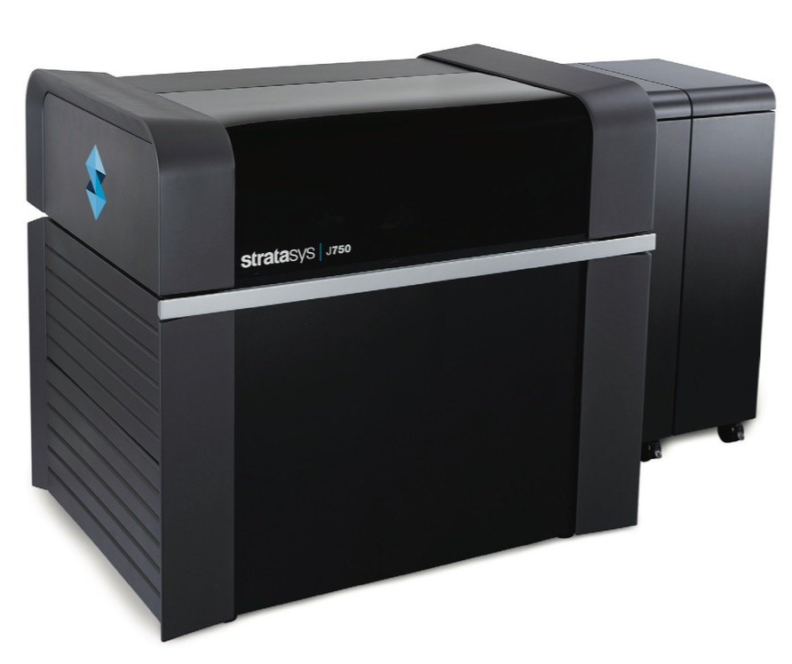 Stratasys J750 - The First Full Colour Multimaterial 3D