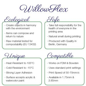WillowFlex features