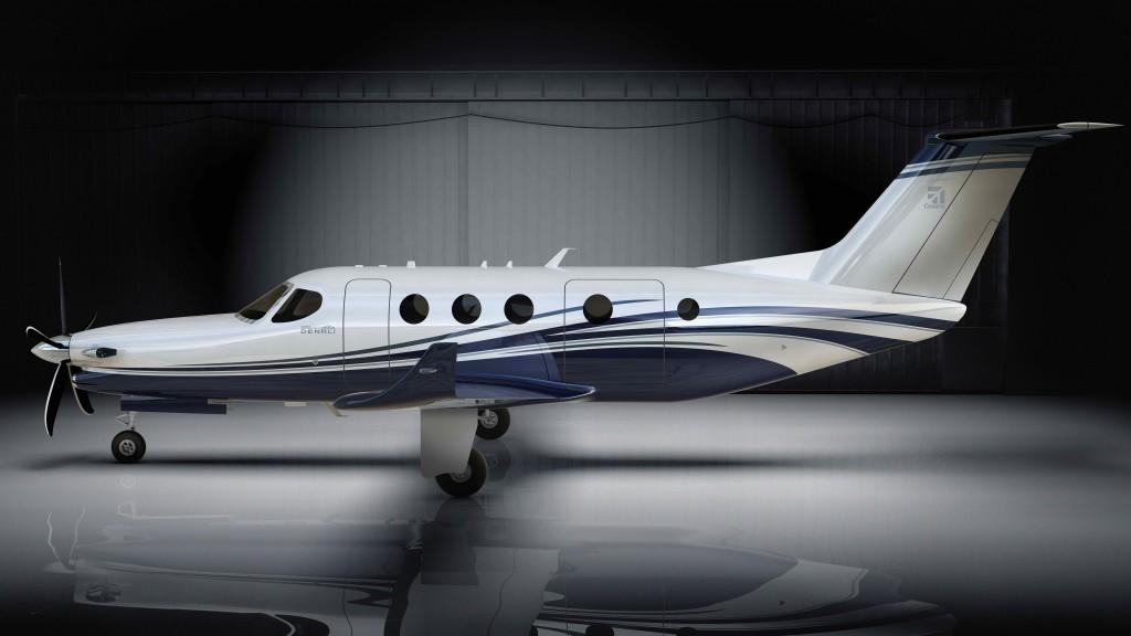Next Generation Cessna Denali Features 3D Printed Propeller