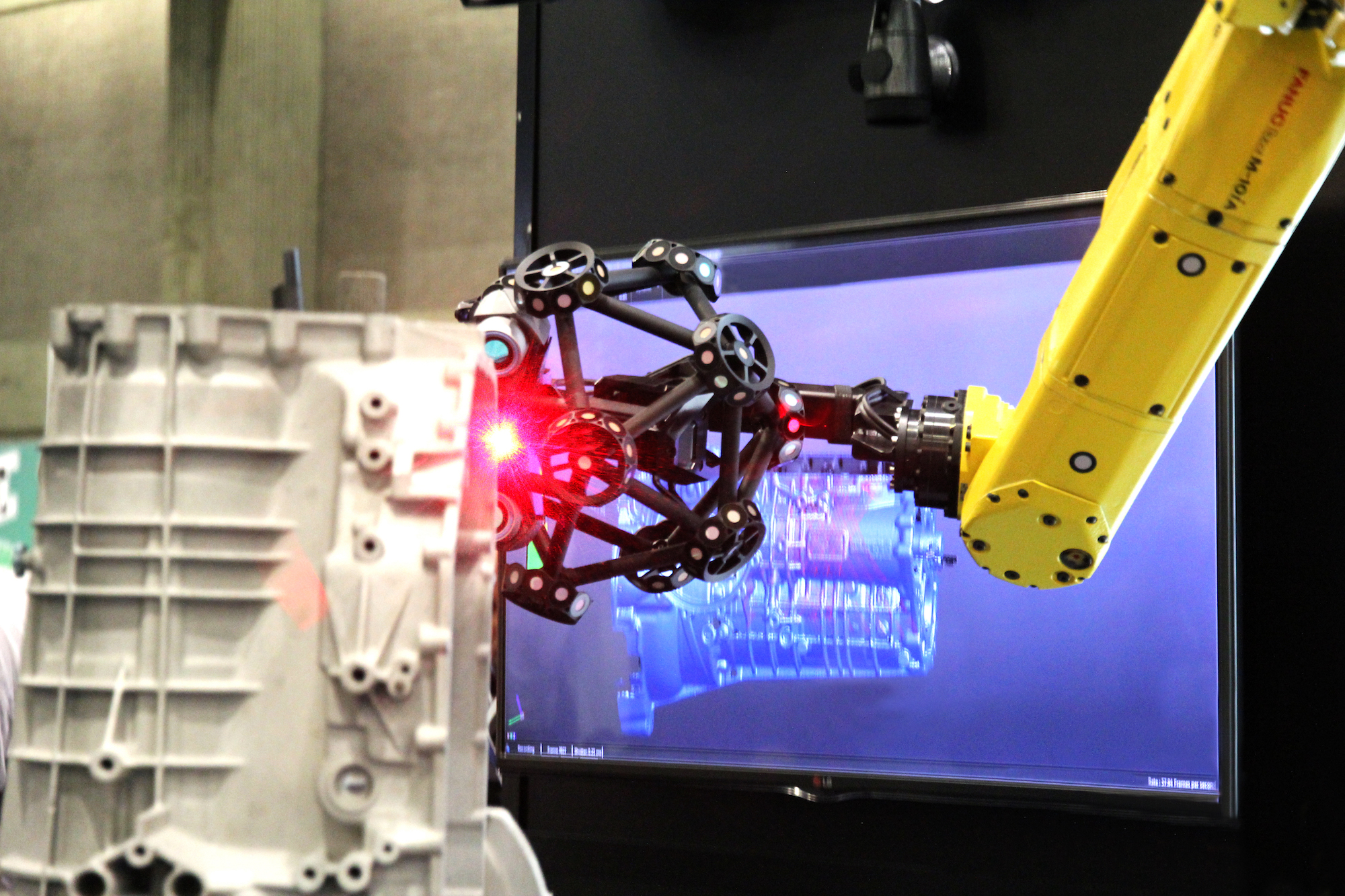 Metrology automation - Automated part inspection by a robot-mounted optical CMM