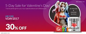 Valentine's Day Deal at Gambody