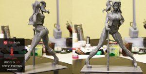 3D Printed Harley Quinn