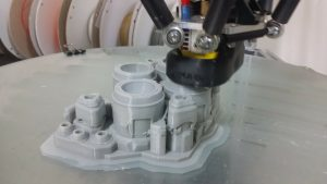 Gambody Reveals 24-inch 3D Printed Battlecruiser 1