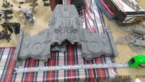 Starcraft Hyperion Battlecruiser 3d printed Gambody