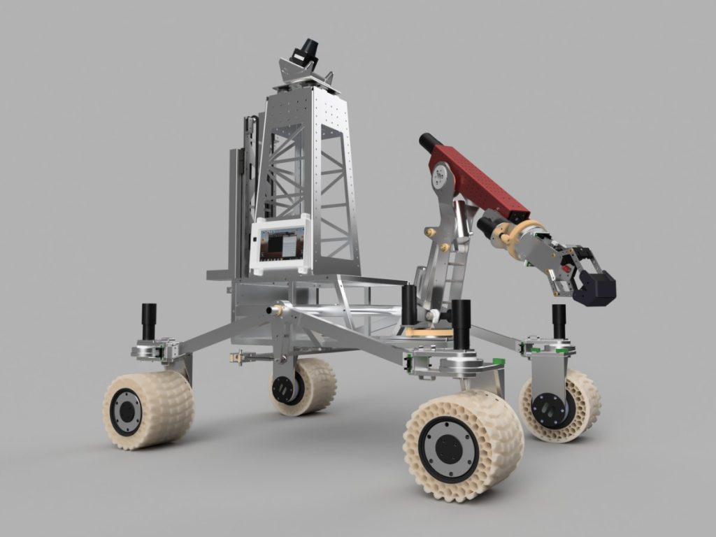 Mars rover vehicle project