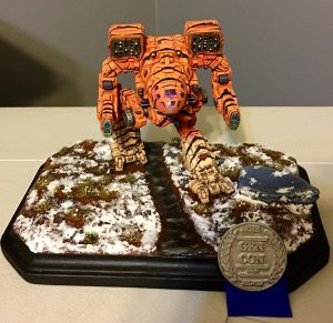 3D Printed Timber Wolf Wins Silver at Gen Con 1
