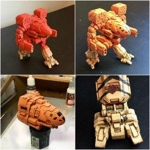 3D Printed Timber Wolf Wins Silver at Gen Con 4