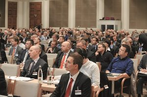 Technology Conference at AKL'16. The main topic at AKL'18 is digitalization in the laser industry. © Fraunhofer ILT, Aachen, Germany.