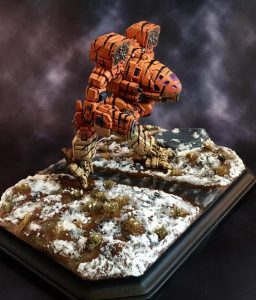 3D Printed Timber Wolf Wins Silver at Gen Con 6