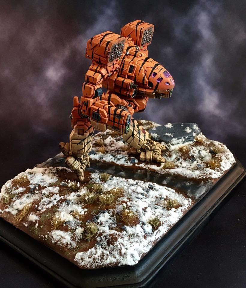 3D Printed Timber Wolf Wins Silver at Gen Con - 3Printr com