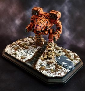3D Printed Timber Wolf Wins Silver at Gen Con 5