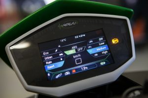 CRP Technology reinvents the Energica dashboard