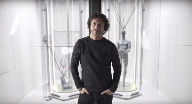 Tractus3D printers can 3D print entire life-size mannequins at once