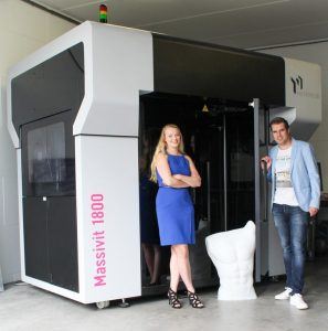 3D Next Level installs first Massivit 1800 3D Printer in Benelux