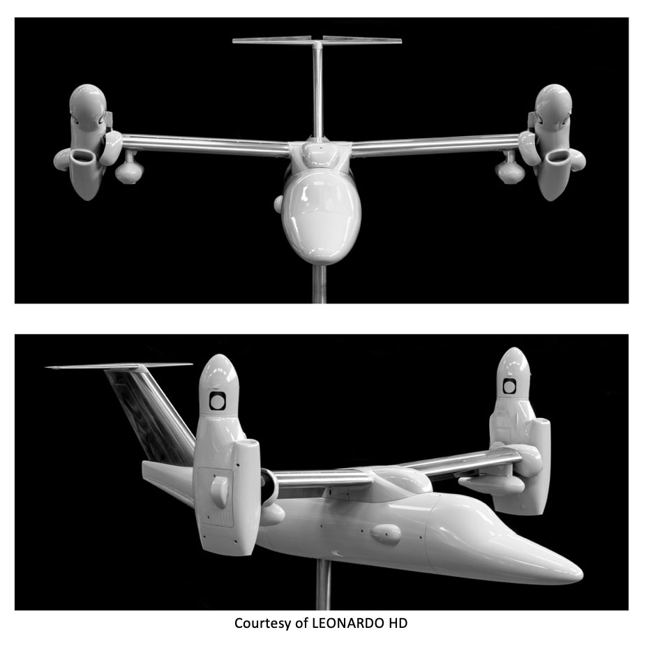 The construction of the new AW609 wind tunnel model through  3D printing technology and Carbon-composite material 7