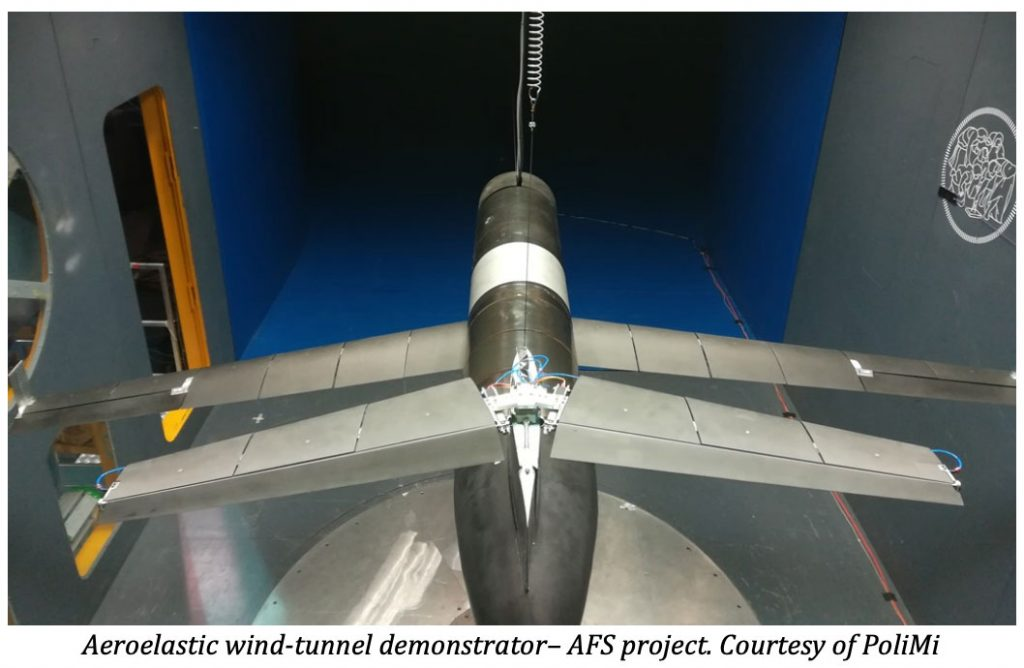 Professional 3D Printing and Windform® composite materials used in the manufacturing of two innovative aero-elastic wind tunnel demonstrators 1