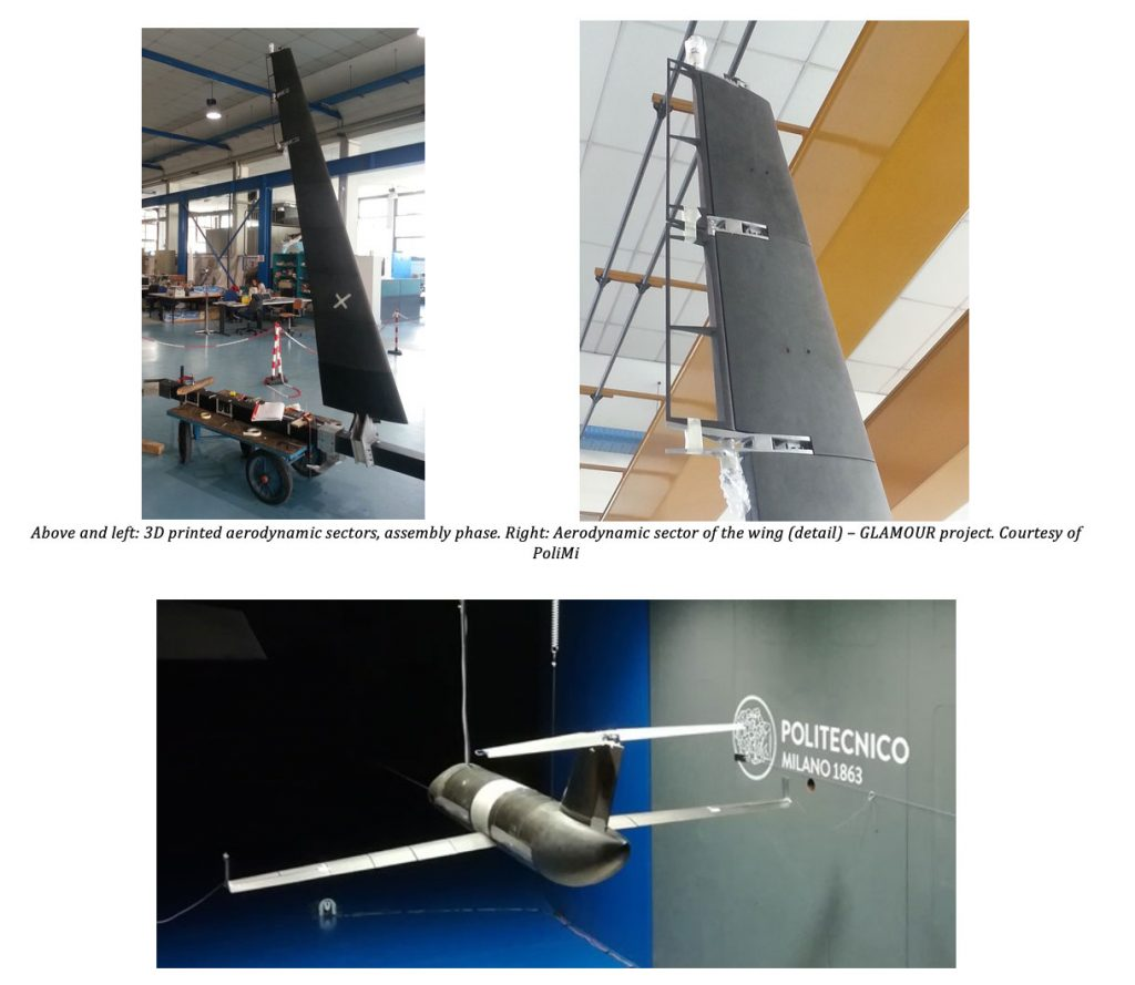 Professional 3D Printing and Windform® composite materials used in the manufacturing of two innovative aero-elastic wind tunnel demonstrators 6
