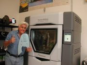 Legendary comedian Jay Leno harnesses Stratasys 3D printing to build a digital inventory that helps road test, refurbish and retrofit classic vehicles and super cars. (Photo: Stratasys)